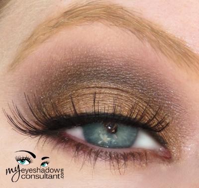 spotlight on mac tempting my eyeshadow consultant