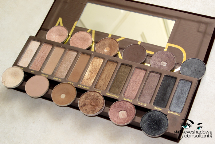 Fabuleux MAC Dupes for Urban Decay's Naked1 Palette - My Eyeshadow Consultant HA39