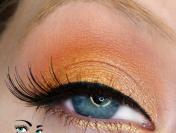 MAC Paint Pots: Using Rubenesque to Make Orange Eyeshadows POP!