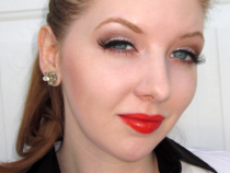 Special Request: How to Wear Red Lipstick with the UD Naked Palette