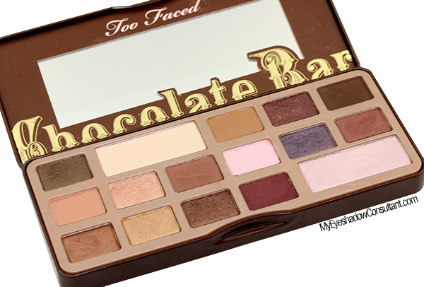 Too Faced Chocolate Bar Palette Tutorial - My Eyeshadow Consultant