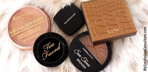 top 5 bronzers for fair skin my eyeshadow consultant. Black Bedroom Furniture Sets. Home Design Ideas