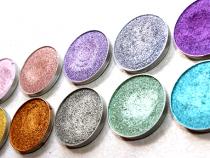 10 New MakeupGeek Foiled Eyeshadows!