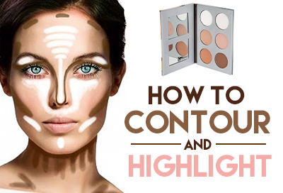 How to Contour & Highlight the Face