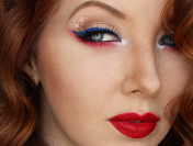 Video Tutorial: FUN Fourth of July Look!