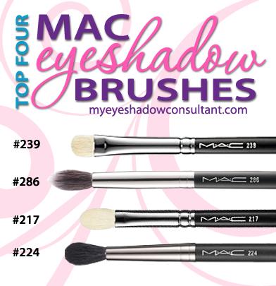 Top 4 Mac Eyeshadow Brushes Cheaper