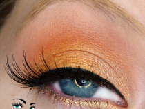 MAC Paint Pots: Using Rubenesque to Make Orange Eyeshadows POP!