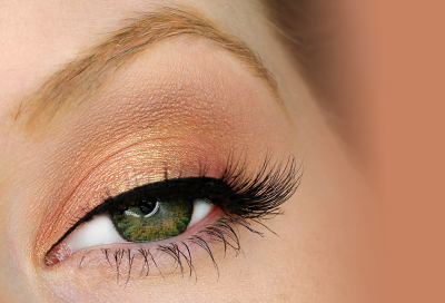 Green Eyes Series: Orange Eyeshadow