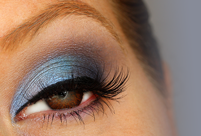 Brown Eye Series: Blue Eyeshadow