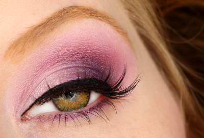 Hazel Eyes Series: Purple Eyeshadow