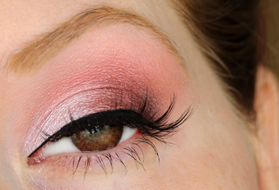 Brown Eyes Series: Pink Eyeshadow