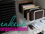 Makeup Re-Organizing! + Storage Solutions for Your Collection