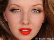 How to Wear Orange Lipstick