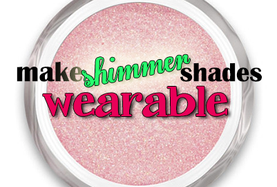 How to Make Your Shimmer Eyeshadows More Wearable