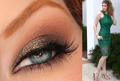 New Year's Eve Makeup Tutorial + Outfit!